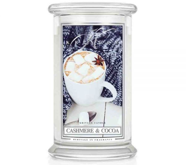 Kringle Candles - Cashmere & Cocoa 100h