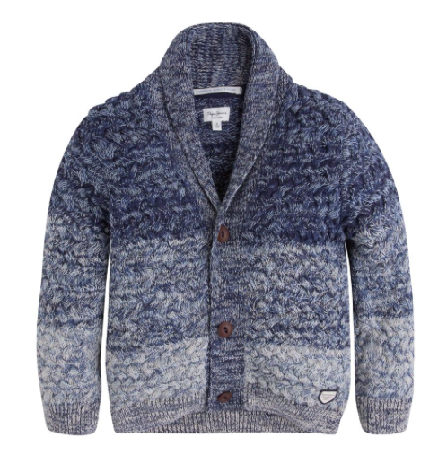 Strickjacke Ernest JR - Blue