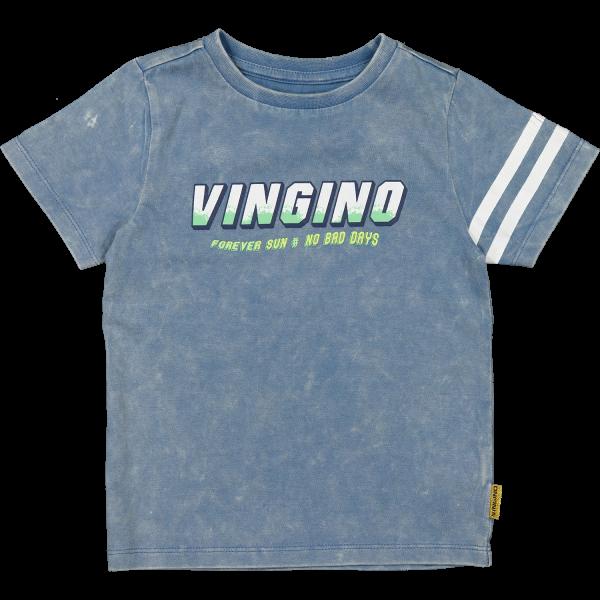 Jungen T-Shirt Halis Denim Blue