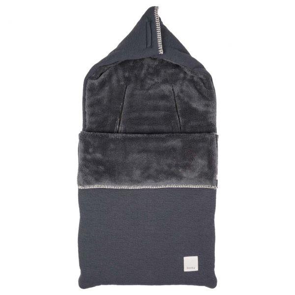 Fußsack Runa - Dark Grey