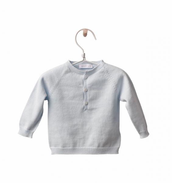 Pullover mit Knopfleiste babymint