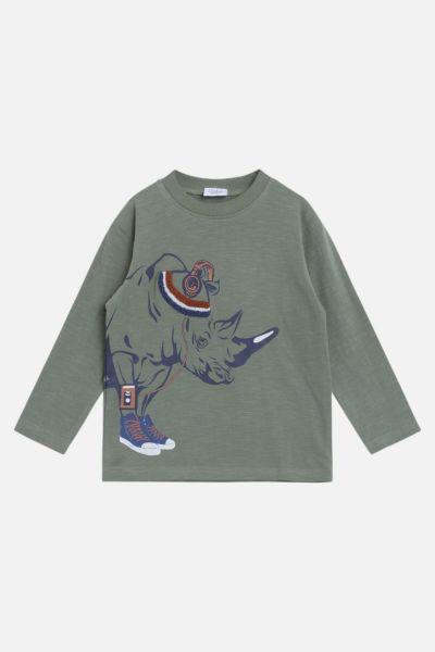 Shirt mit Nashorn
