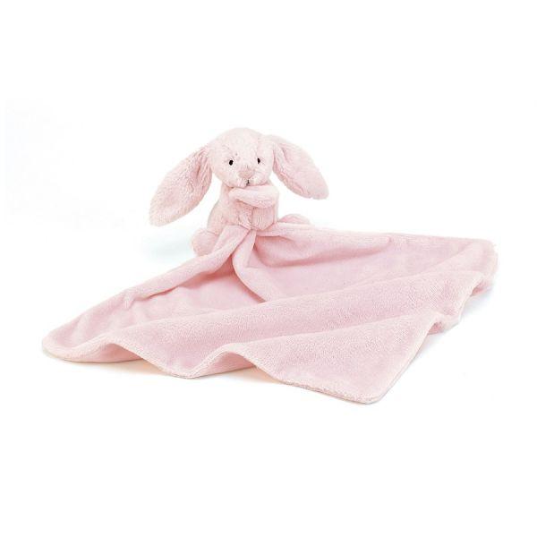 Hase mit Schnuffeltuch-Bashful pink bunny soother