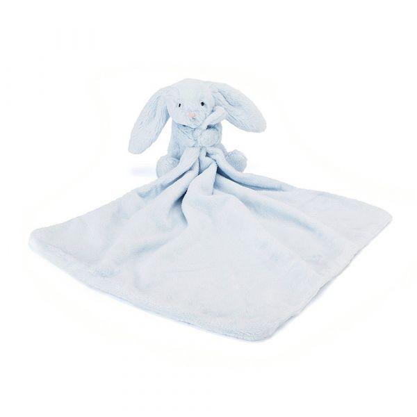 Hase mit Schnuffeltuch-Bashful blue bunny soother