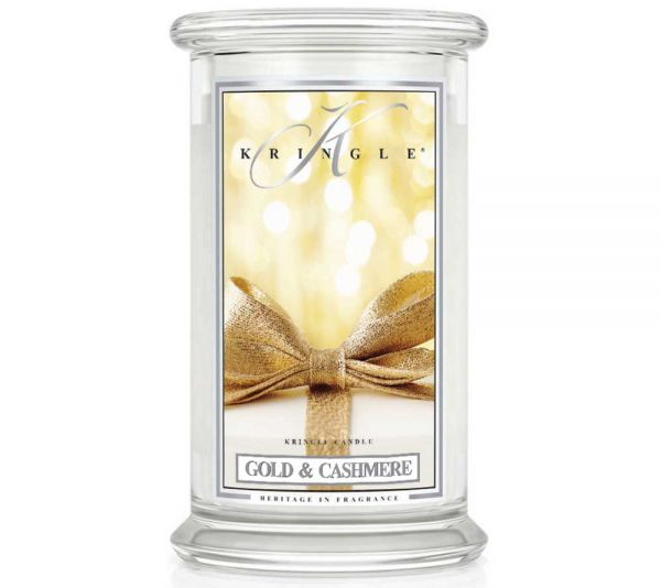 Kringle Candles - Gold & Cashmere 100h