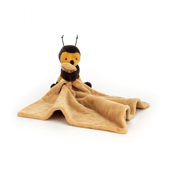 Biene mit Schnuffeltuch-bashful bee soother