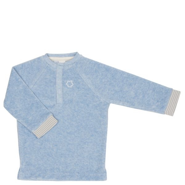 Langarm T-Shirt Mika - Soft Blue