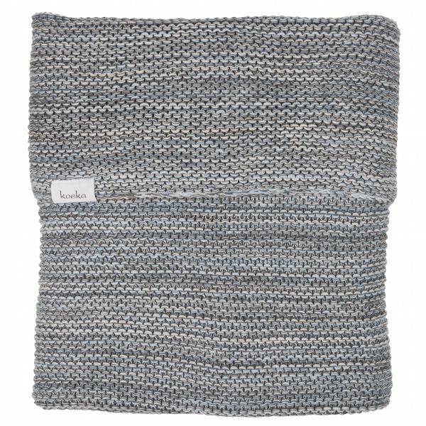 Babydecke Porto - Grey/Soft Blue